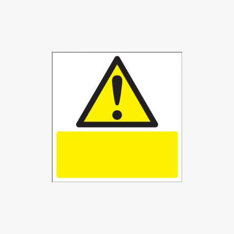 300x300mm Triangle Exclamation Mark Plastic Signs