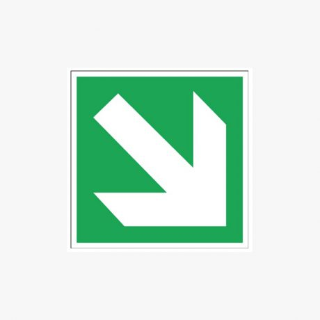 Arrow Diagonal Signs