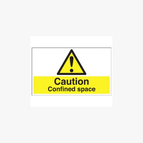 Caution Confined Space