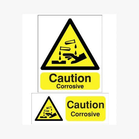 Caution Corrosive