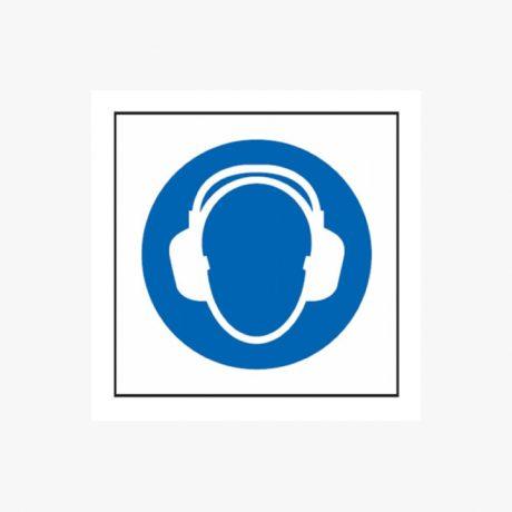 Ear Protectors Symbols Rigid Plastic