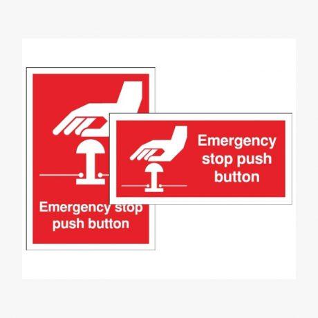 Emergency Stop Push Botton