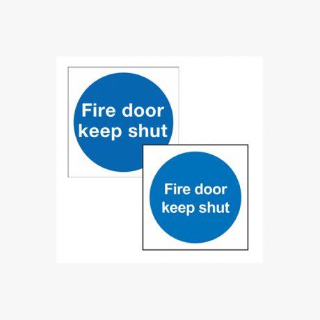 Fire Door Keep Locked, Keep Shut