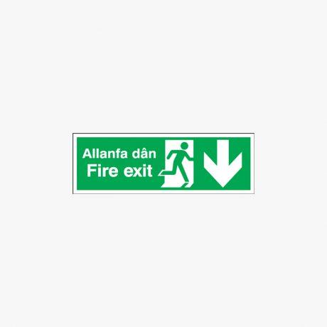 Fire Exit Allanfa Dan Signs