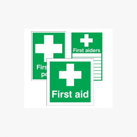 First Aid Point, First Aid Box Signs, First Aid Station
