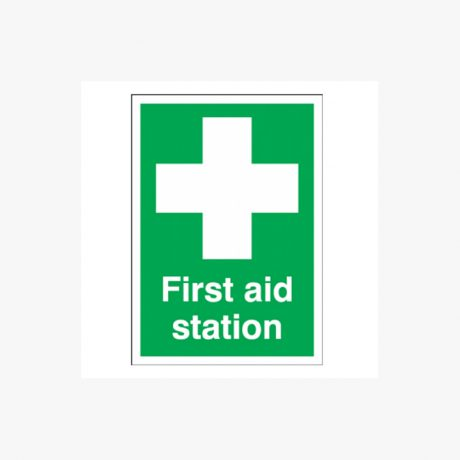 First Aid Station Signs