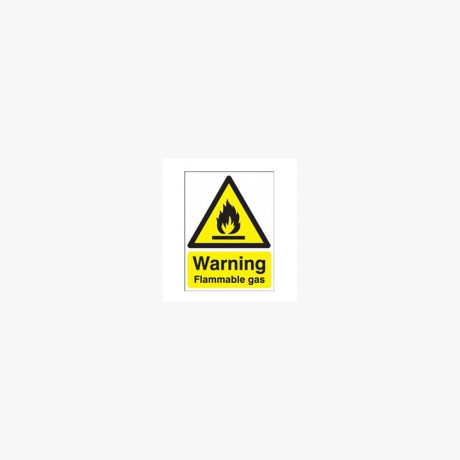 Flammable Gases Signs