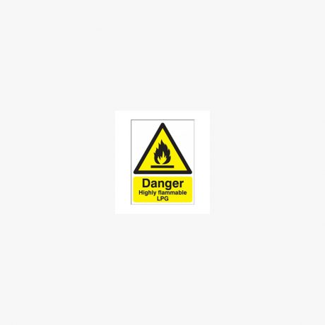 Flammable LPG Signs