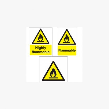 General Flammable Signs