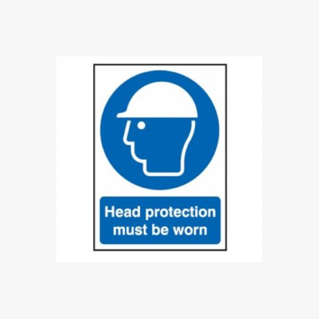 Head Protection Signs