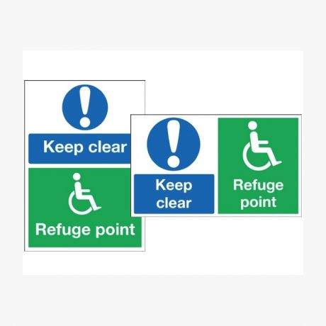 Keep Clear Refuge Point