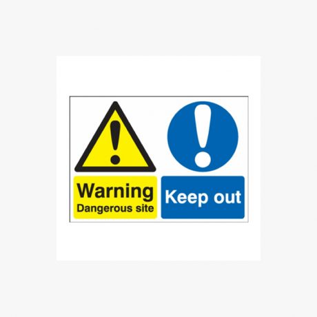 Keep Out Warnig Signs