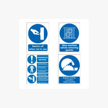 Machinery Safety Mandatory Signs