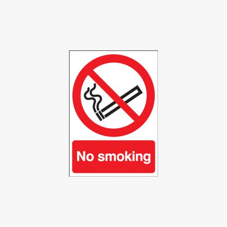 Plastic 600x450mm No Smoking Signs