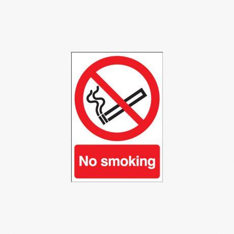 Plastic 600x450mm No Smoking Signs