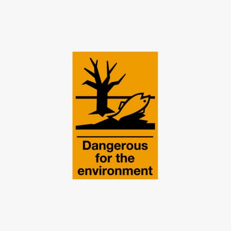Self Adhesive 150x100mm Dangerous For The .. Signs