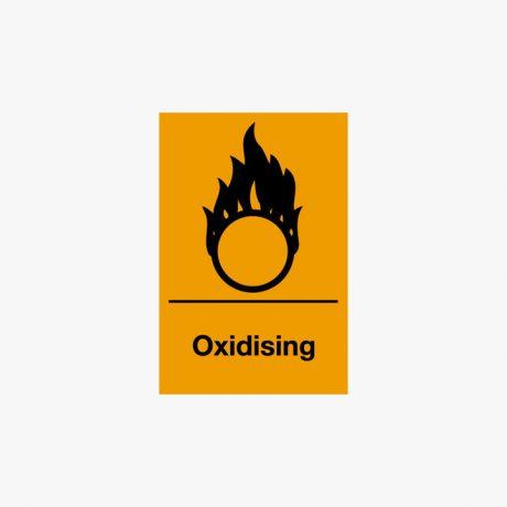Self Adhesive 150x100mm Oxidising Signs