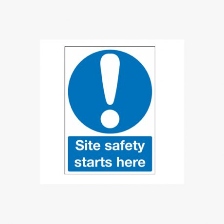 Site Safety Starts Here Signs