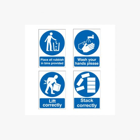 Site Safety and Good Practise Signs