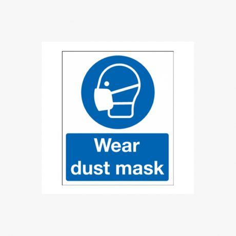 Wear Dust Mask Signs