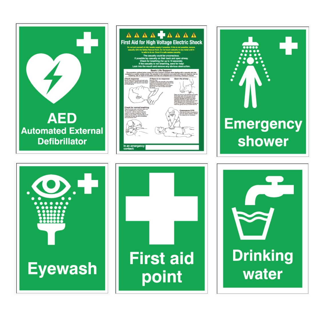 First-Aid-Signs,-Eyewash-Station-Signs,-Emergency-Shower-Signs