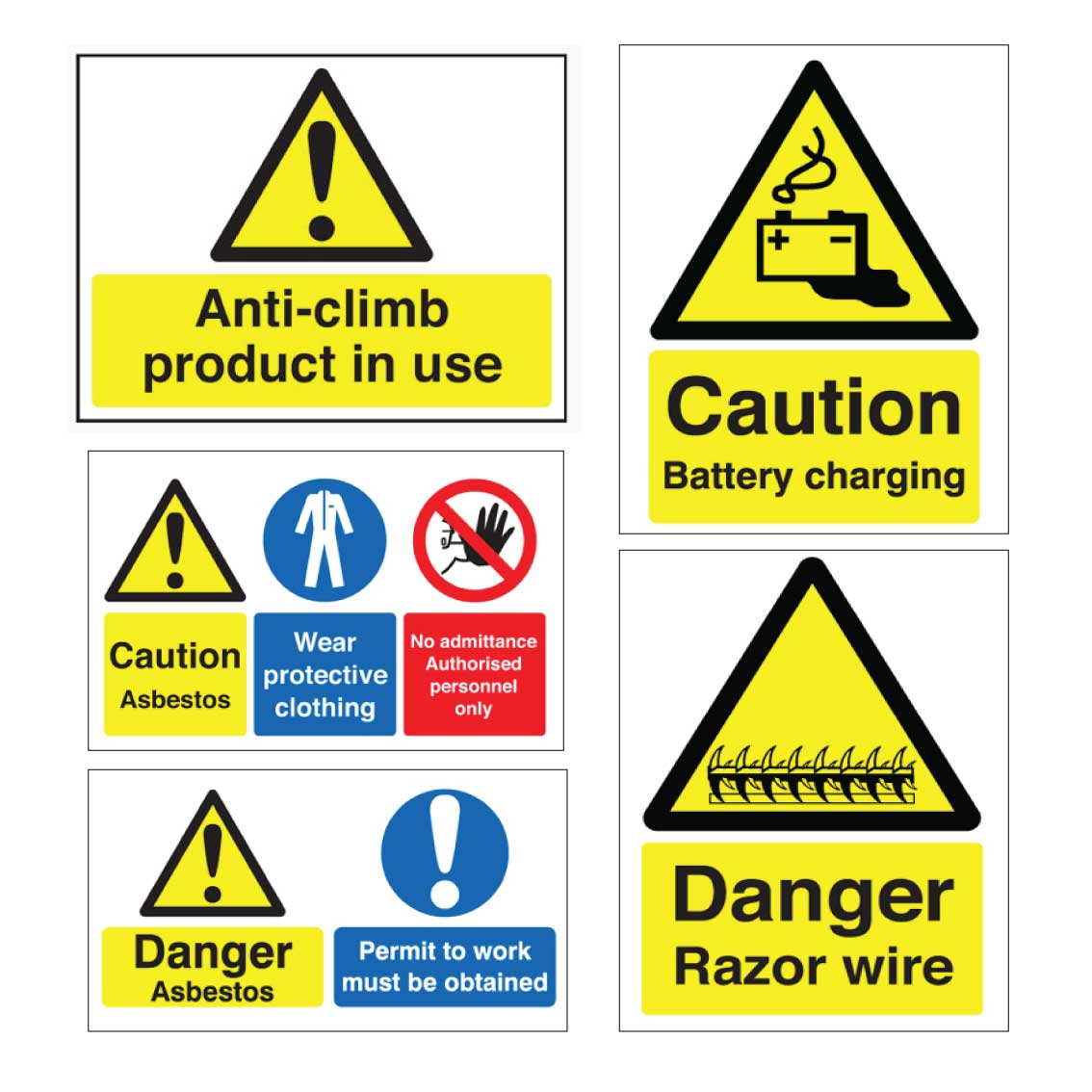 Hazard-Caution-Danger-Warning-Signs