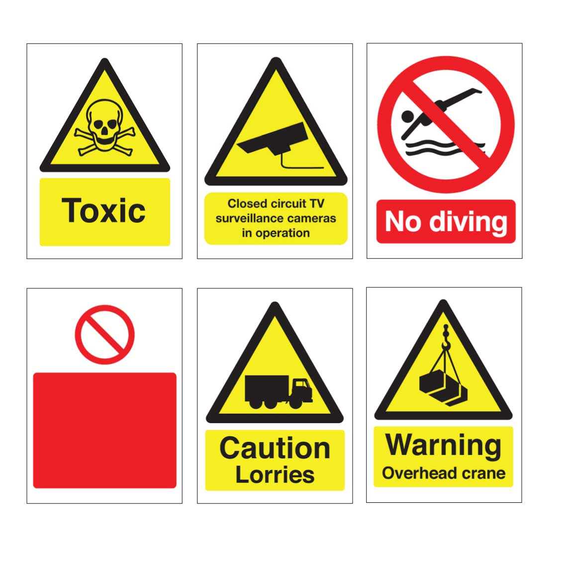 Safety Signs Web Only
