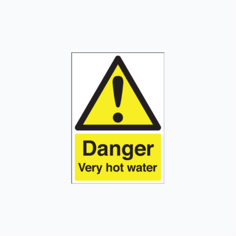 Danger Hot Water Signs