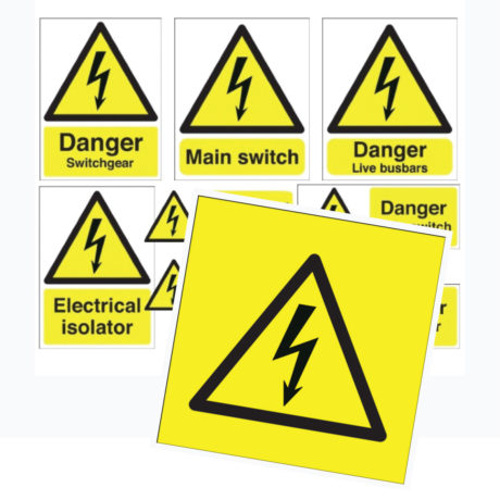 Electricity Safety Signs