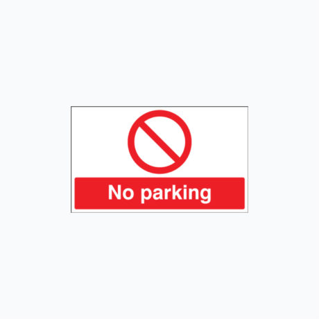 No Parking Safety Signs