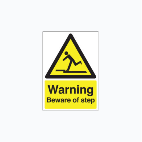 Warning Beware of Step