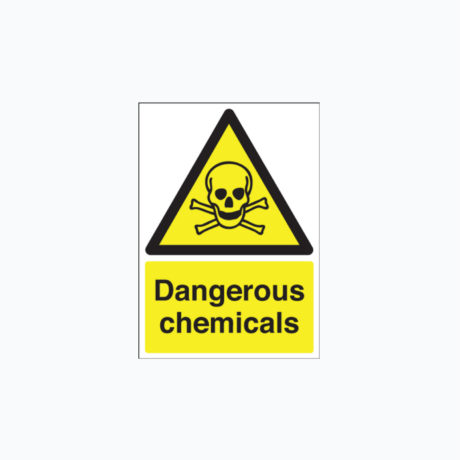 Warning Dangerous - Harmful Chemicals
