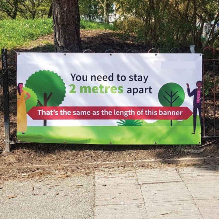 social-distance-2-metre-banner
